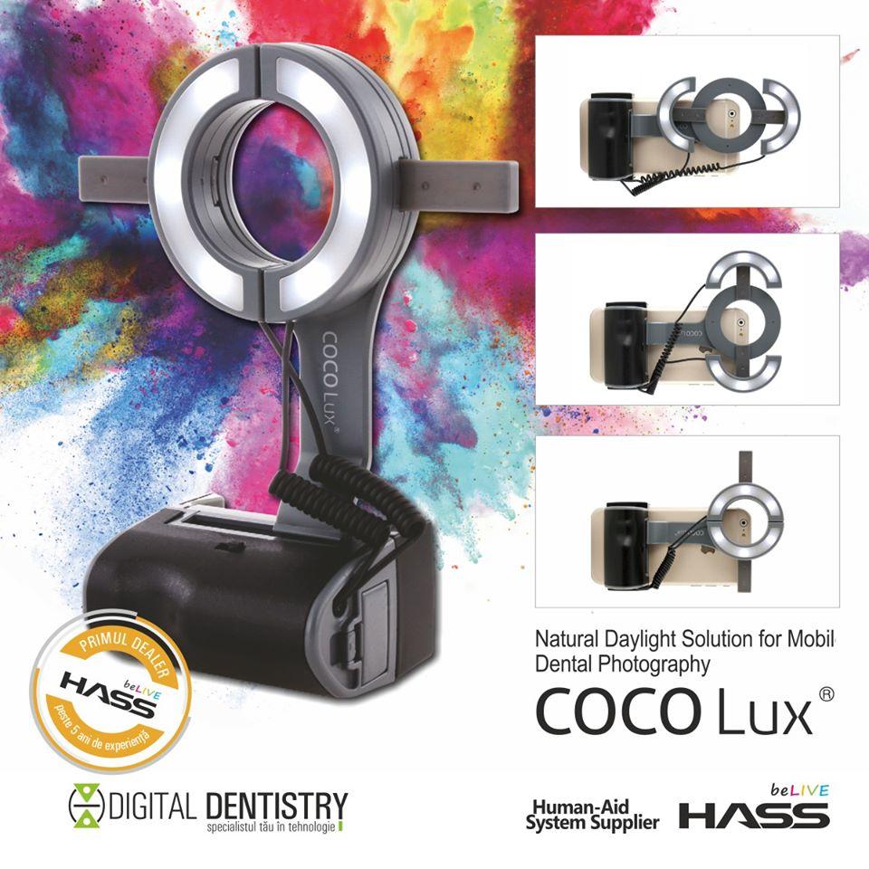 COCOLux dispozitiv fotografii dentare